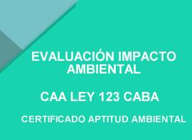 CAA LEY 123 CABA CERTIFICADO APTITUD AMBIENTAL